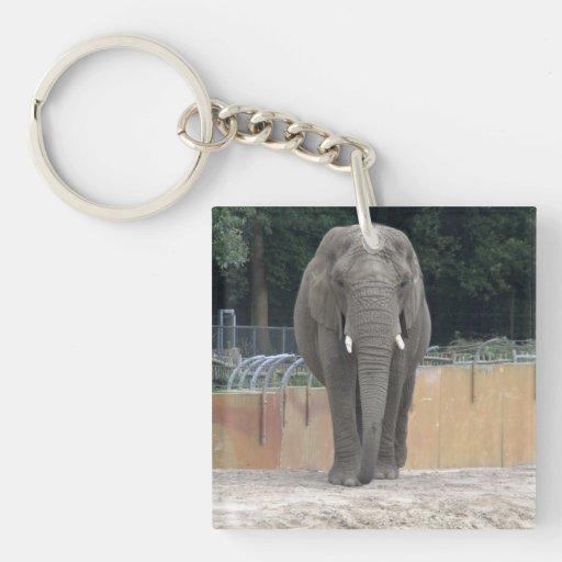 Elephant Acrylic Key Chain