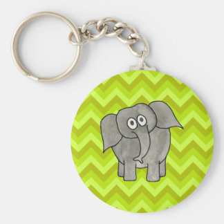 Elephant. Key Chain