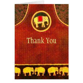 Elephant Kingdom Business Thank You Card