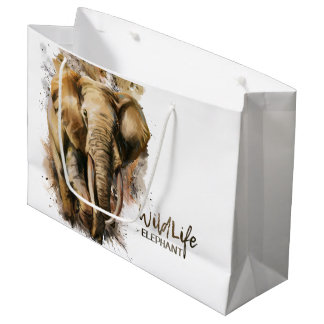 Elephant Large Gift Bag