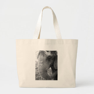 Elephant Large Tote Bag