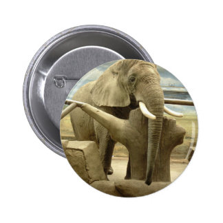 Elephant Love 6 Cm Round Badge