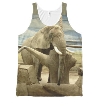 Elephant Love All-Over Print Tank Top
