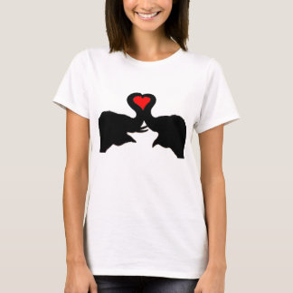 Elephant love girls tee