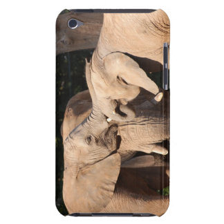 Elephant Love iPod Case Barely There iPod Cover