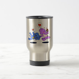 Elephant Love Stainless Steel Travel Mug
