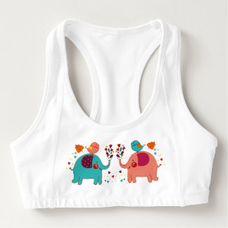 Elephant love sports bra
