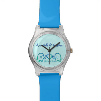 elephant love wrist watch