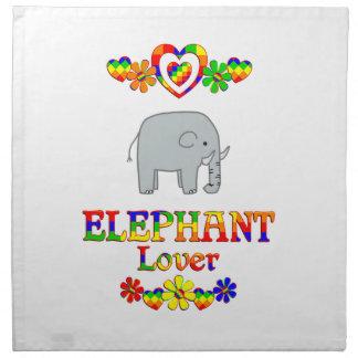 Elephant Lover Napkin