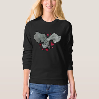 elephant lover sweatshirt