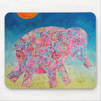 elephant/Magic and sun mousepad