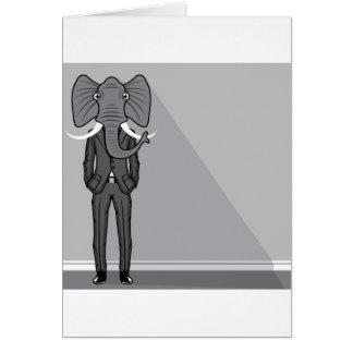 Elephant Man Greeting Card