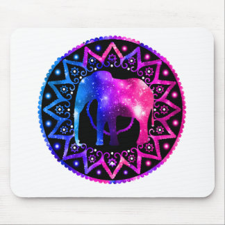 Elephant Mandala Mouse Pad