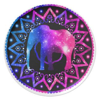 Elephant Mandala Plate