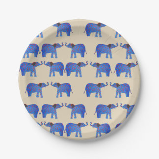 Elephant Mood Custom Paper Plates