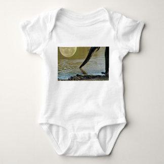 Elephant Moon Baby Bodysuit