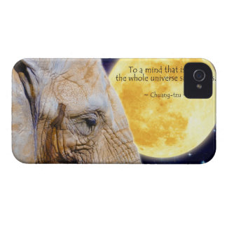 Elephant & Moon Blackberry Bold Phone Case iPhone 4 Cover
