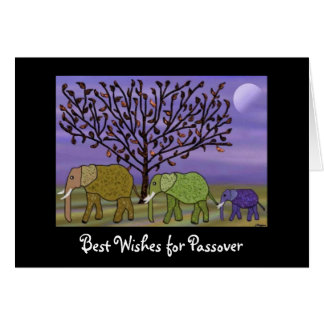 Elephant Moon Passover Card