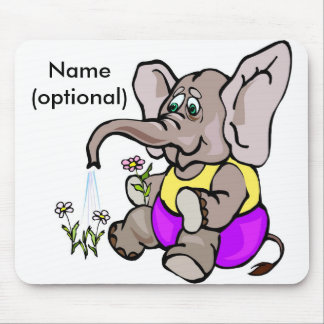 Elephant Mouse Pad
