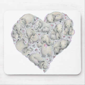 Elephant Mousepad by Cynthia Narcisi
