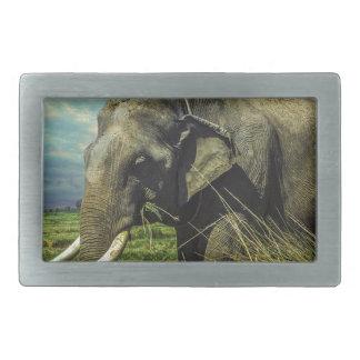 Elephant Nature Belt Buckle