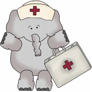 Elephant Nurse sculpture Standing Photo Sculpture