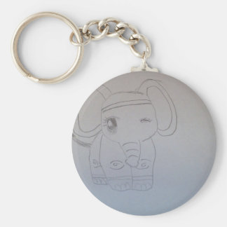Elephant Object Key Chains