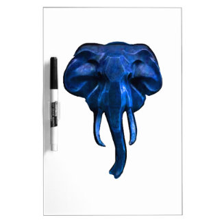 Elephant of courage dry erase board