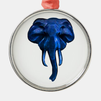 Elephant of courage metal ornament
