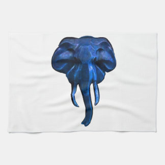 Elephant of courage tea towel