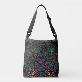 Elephant or fish abstract tote