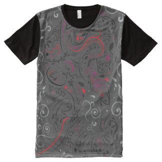 elephant ornate All-Over print T-Shirt
