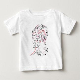 elephant ornate baby T-Shirt