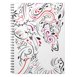 elephant ornate notebook