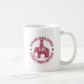 Elephant Overland Cargo Express Coffee Mug
