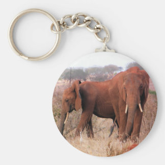elephant pair.JPG Key Chain