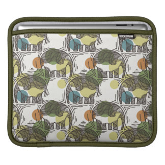 Elephant Pattern iPad Sleeve