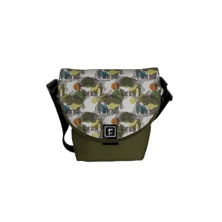 Elephant Pattern Messenger Bags