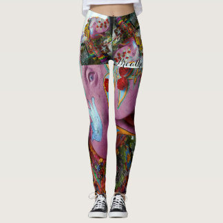 Elephant Peace Yoga Leggings