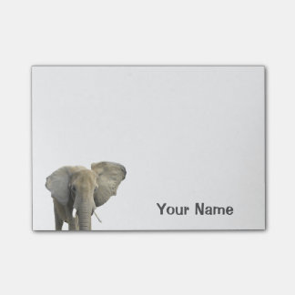 Elephant Personalized Name Post-it Notes