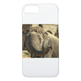 Elephant Pointing Forward with the Trunk iPhone 8/7 Case