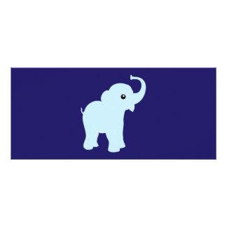 Elephant polka dots stripes custom name bookmark rack card