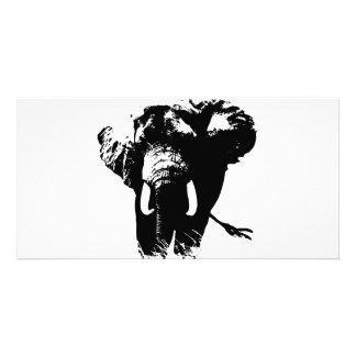 Elephant Pop Art Photo Cards
