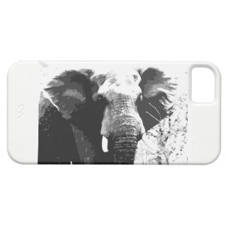 Elephant Portrait  Iphone case