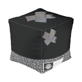 Elephant Pouf Cube Pouffe