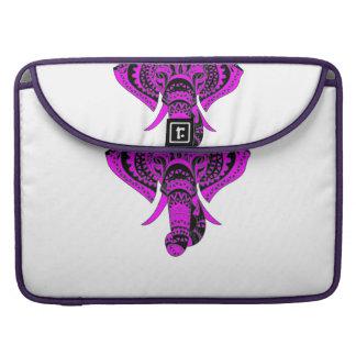 Elephant Purple Style Sleeve For MacBooks