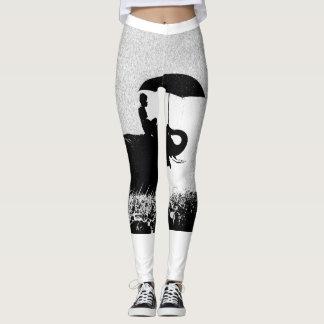 Elephant rain Art- Custom Leggings