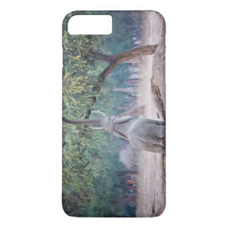 Elephant reaching for Acacia tree iPhone 7 Plus Case