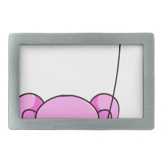 elephant rectangular belt buckle