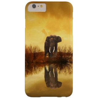 Elephant Reflection At Sunset iPhone Case